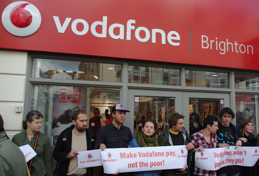 vodafone too big to pay taxes?