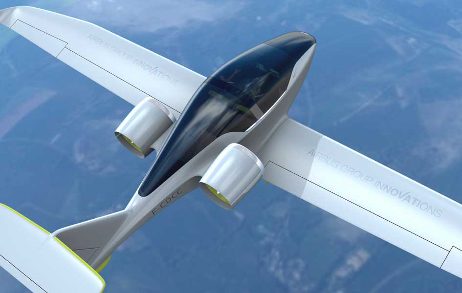 a glimpse of the future that wan't to be - Airbus Innovation's eFan.